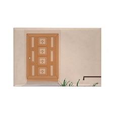 2-Door in NM Rectangle Magnet