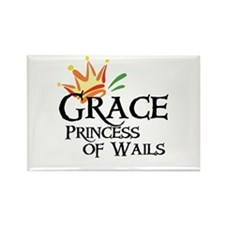 Grace Princess of Wails Rectangle Magnet
