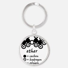Dalton-ether-forlight Round Keychain