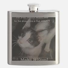 2-MeowCowKitty Flask