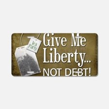 02-15_liberty-orig Aluminum License Plate