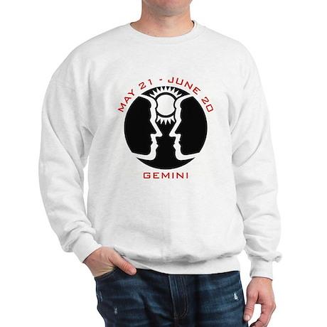 Gemini Emblem Red Sweatshirt