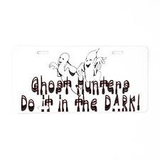 in the dark Aluminum License Plate