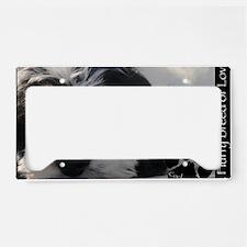 cockapoo License Plate Holder