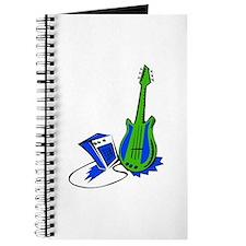 guitar amp stylized fill green blue Journal