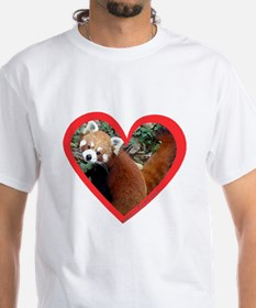 Red Panda Hear T-Shirt