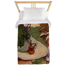 alice by Attwell, Mabel Lucie. catepill Twin Duvet