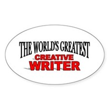 """""""The World's Greatest Creative Writer"""" Decal"""