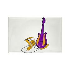 guitar amp stylized fill purple orange Magnets