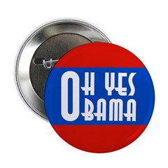 Oh Yes Obama button ten pack