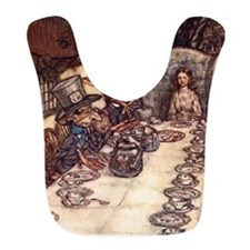 alice-tea-party Bib