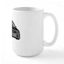 Evo - X - Black Design - Light Color Ba Mug