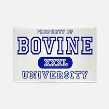 Bovine University Rectangle Magnet