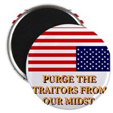 Purge the Traitors From Our Midst(white).gi Magnet