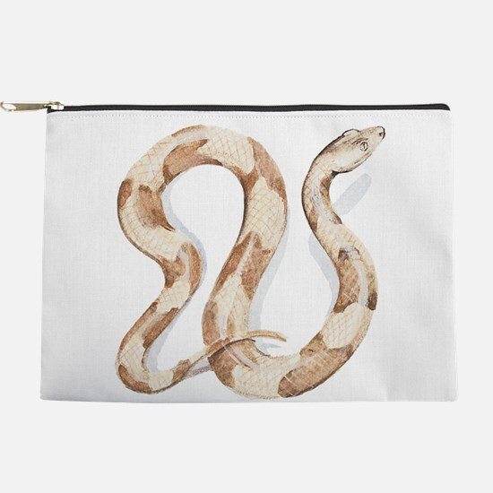 Copperhead snake Makeup Pouch