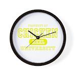 Chicken University Wall Clock
