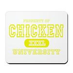 Chicken University Mousepad