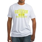 Chicken University Fitted T-Shirt