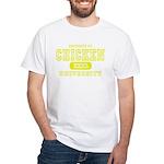 Chicken University White T-Shirt