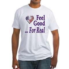 Feel Good: Vote Democratic (Fitted T)