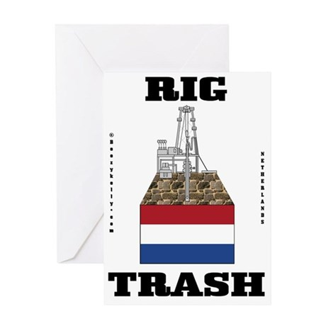 Netherlands Rig Trash 2a BC use A4 u Greeting Card