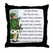 An Irish Prayer Throw Pillow