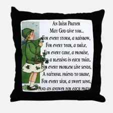 An Irish Prayer Throw Pillow