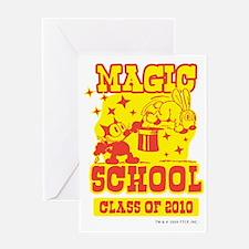 2-magicschool Greeting Card