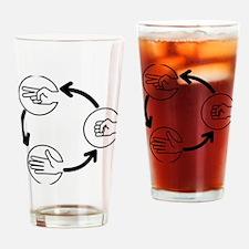 rockpaperscissors Drinking Glass