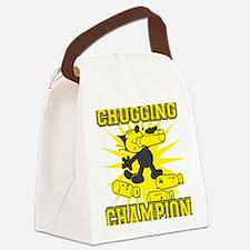 3-chuggingchampion Canvas Lunch Bag