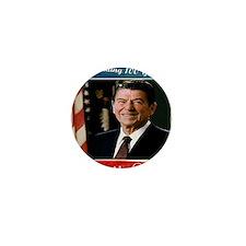 Reagan_100th_9.75x7.75 Mini Button