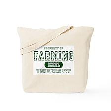 Farming University Tote Bag