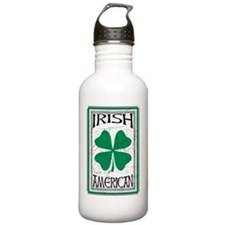 IrishAmericanWht Water Bottle