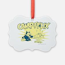3-campfelix Ornament