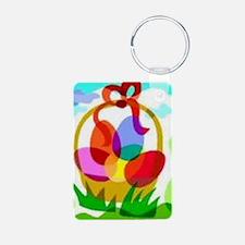 2-easter basket Keychains