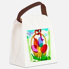 2-easter basket Canvas Lunch Bag