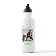 2-PET DAD BLACK Water Bottle