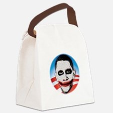 seal_shirt_dkcp Canvas Lunch Bag