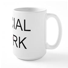 Social Work Maple Leaf Mug