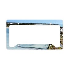 Island Tranquility License Plate Holder