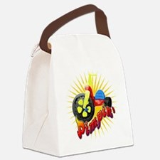 Big Wheel Pimpin Canvas Lunch Bag