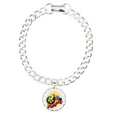 Big Wheel Pimpin Charm Bracelet, One Charm
