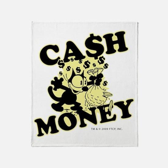 2-cashmoney Throw Blanket
