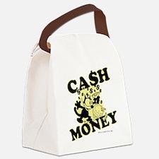 2-cashmoney Canvas Lunch Bag