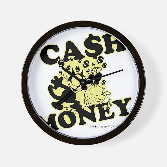 2-cashmoney Wall Clock