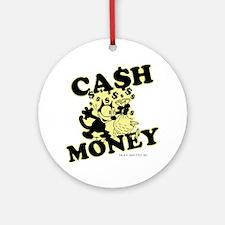 2-cashmoney Round Ornament