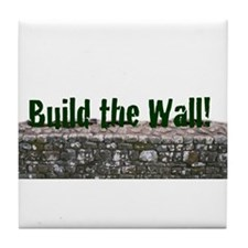 Build the Wall Tile Coaster