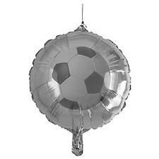 5-soccerballblack Balloon