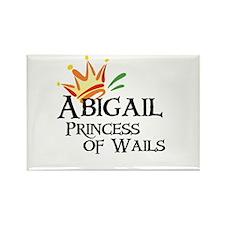 Abigail Princess of Wails Rectangle Magnet