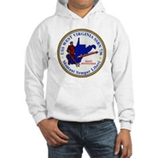 wvirginia patch transparent Hoodie